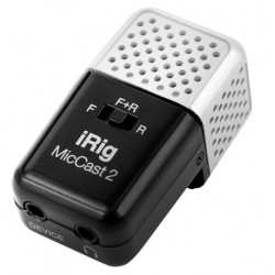 IK MULTIMEDIA iRig Mic Cast 2 microfono per dispositivi mobili ios e android