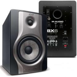 """M-AUDIO BX6 Carbon STUDIO MONITOR ATTIVO 6""""/1.25"""" biamplificato 130w"""