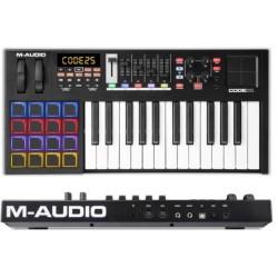 M-AUDIO Code 25 Black controller midi usb 25 tasti con pad x/y nero