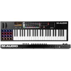 M-AUDIO CODE 49 black controller midi usb 49 tasti con pad x/y nero