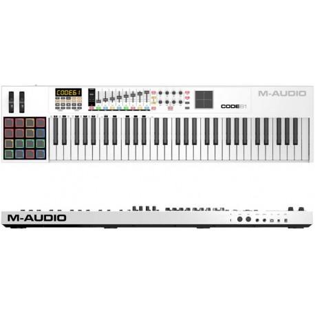 M-AUDIO Code 61 USB/midi controller 61 tasti con PAD x/y