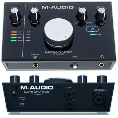 M-AUDIO M-TRACK 2X2 interfaccia audio usb 2in, 2out 24bit/192hKz