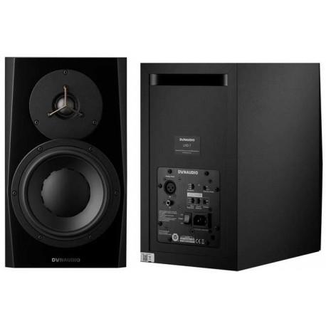 DYNAUDIO LYD-7 Black studio monitor biamplificato nero