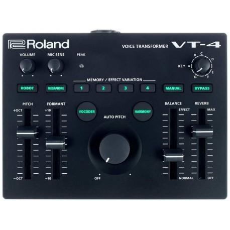 ROLAND VT-4 VOICE TRANSFORMER (AIRA) processore di effetti per voce