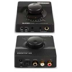 M-AUDIO Super DAC convertitore digitale /analogico USB 24 BIT/192kHz + amplificatore per cuffie