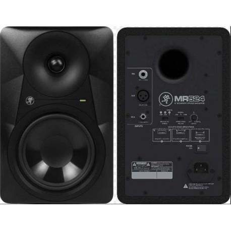 """MACKIE MR524 studio monitor biamplificato nero 5"""" 50W"""