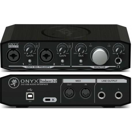 MACKIE ONYX PRODUCER 2.2 interfaccia audio USB 2 x2 24-bit/192kHz