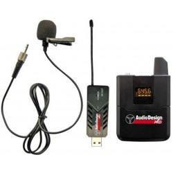 AudioDesign Pro PMU USB 1.1 microfono wireless USB