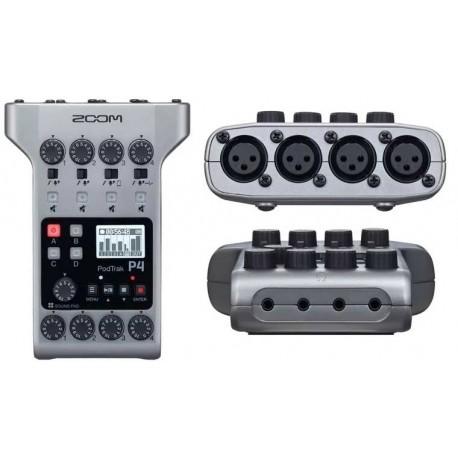 ZOOM Podtrak P4 registratore podcast palmare