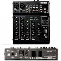 ART USB MIX 6 mixer a 6 canali con interfaccia audio usb