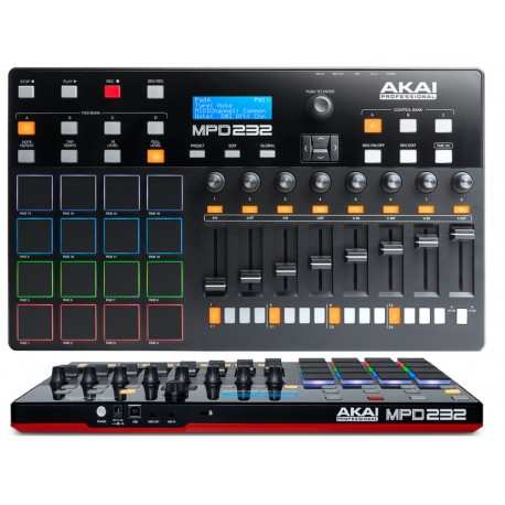 AKAI MPD232 Usb midi controller 16 pad