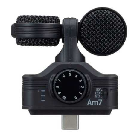 ZOOM AM7 mid-side stereo microphone for Andriod devices