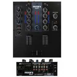 MIXARS CUT MKII 2-Channel Scratch Mixer