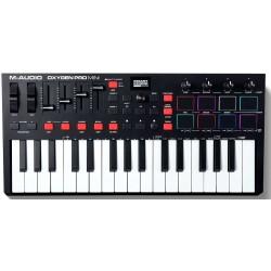 M-AUDIO OXYGEN PRO MINI USB MIDI controller
