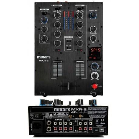 MIXARS MXR2 mixer 2 canali con effetti e scheda audio 4 in/4 out