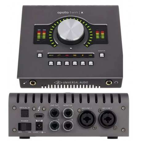 UNIVERSAL AUDIO Apollo Twin X Quad Heritage Edition interfaccia audio thunderbot