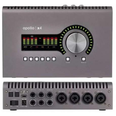 UNIVERSAL AUDIO Apollo X4 Heritage Edition interfaccia audio 12x18 thunderbolt 3