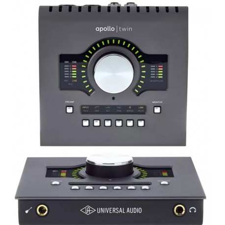 UNIVERSAL AUDIO Apollo Twin MkII Heritage Edition interfaccia audio 10x6 thunderbolt