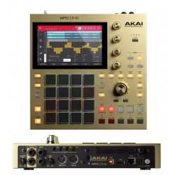 AKAI MPC One Gold - Limited Edition Gold centro per produzione musicale