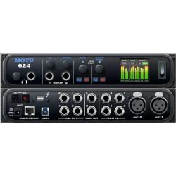 MOTU 624 AVB interfaccia audio 16 IN /16 OUT THUNDERBOLT / USB3 con connettività ETHERNET AVB