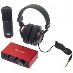 FOCUSRITE SCARLETT SOLO STUDIO (3rd Generation) kit interfaccia audio usb con microfono e cuffia