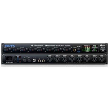 MOTU 8pre USB interfaccia audio 16x12 USB2.0