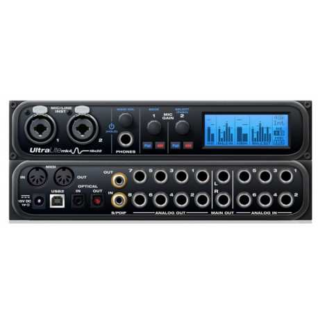 MOTU Ultralite-mk4 interfaccia audio usb 18x22 con dsp e mixer