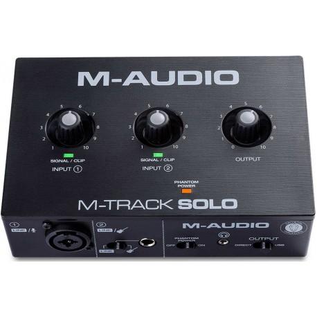 M-AUDIO M-TRACK SOLO interfaccia audio USB 2x2 canali