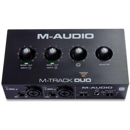 M-AUDIO M-TRACK DUO interfaccia audio USB 2x2 canali