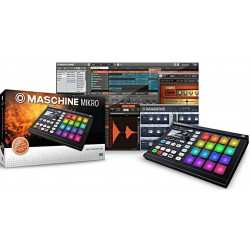 NATIVE INSTRUMENTS Maschine Mikro MKII Black groove box