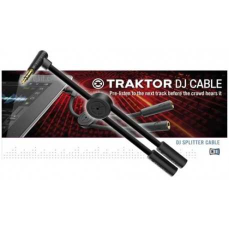 NATIVE INSTRUMENTS Traktor DJ Cable cavo audio splitter per iphone e ipad