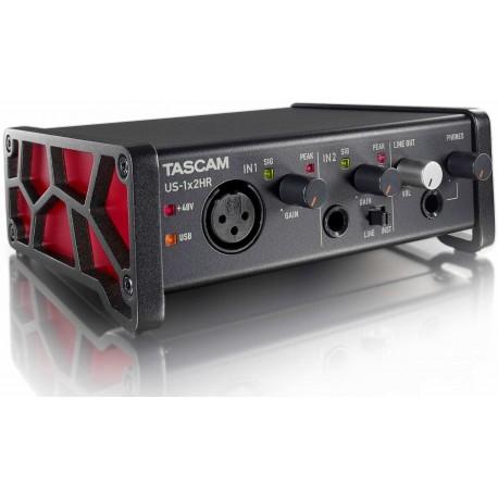 TASCAM US-1X2 HR scheda audio 2 input/output