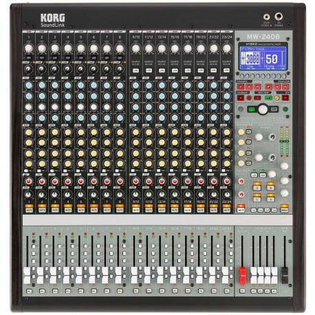 KORG SOUNDLINK MW-2408 mixer ibrido analogico/digitale a 24 canali