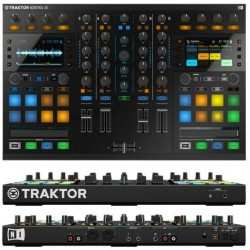 NATIVE INSTRUMENTS TRAKTOR KONTROL S5 controller midi 4 decks stems ready