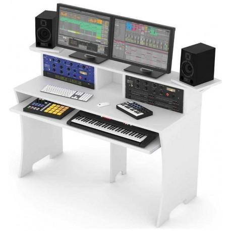 GLORIOUS WORKBENCH desk per produzione home/project studio - white