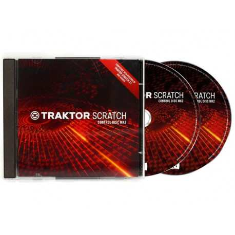 NATIVE INSTRUMENTS Traktor Scratch - Control CD MKII (coppia) cd di controllo MKII