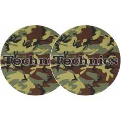 TECHNICS Slipmats Technics Army (coppia)