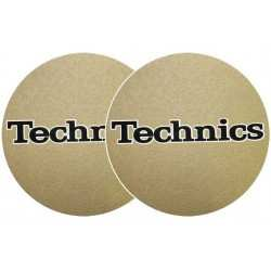 TECHNICS Slipmats Technics Gold (coppia)