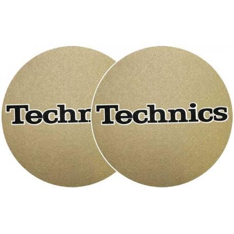 TECHNICS Slipmats Technics Gold(coppia)
