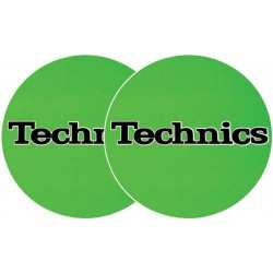 TECHNICS Slipmats Technics Verde (coppia)