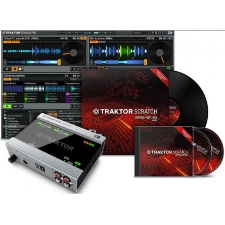 NATIVE INSTRUMENTS TRAKTOR SCRATCH A6 interfaccia audio a6+software digital vinyl+timecode