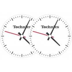 TECHNICS Slipmats Technics Clock (coppia)