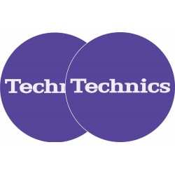 TECHNICS Slipmats Technics Purple (coppia)