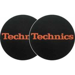 TECHNICS Slipmats Technics Red Logo (coppia)