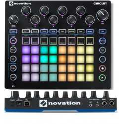 NOVATION Circuit sintetizzatore a modelli analogici con drum machine econtroller midi/usb