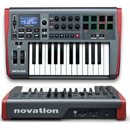NOVATION Impulse 25 Usb/midi controller 25 tasti semipesati