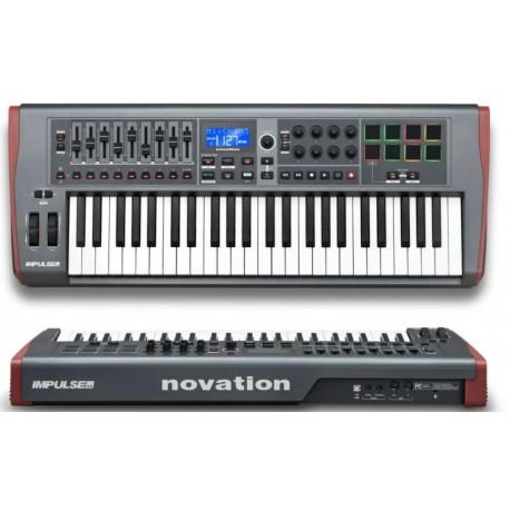 NOVATION Impulse 49 USB//midi controller a 49 tasti semipesati