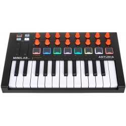 ARTURIA MINILAB MKII ORANGE USB midi controller limited edition