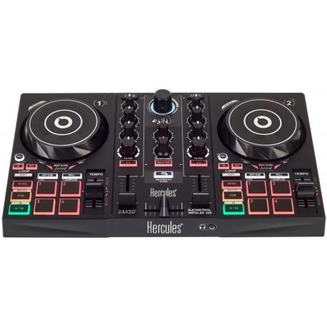 HERCULES DJ CONTROL INPULSE 200 dj controller a due deck