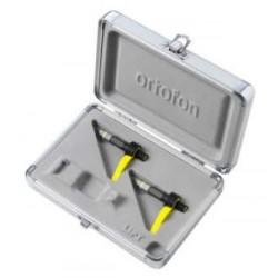 ORTOFON CONCORDE CLUB MK2 TWIN coppia shell con puntina e testina con custodia protettiva
